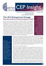 The 2015 Enlargement Package: What is New and What it means for the Enlargement Countries?