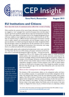 EU Institutions and Citizens